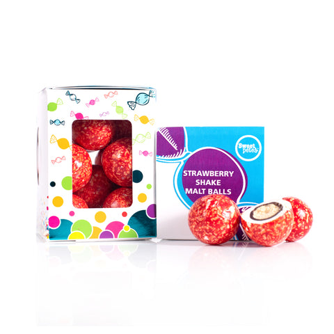 Strawberry Shake Malt Balls