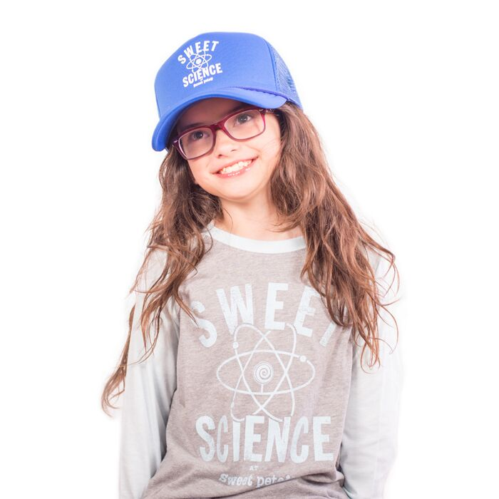 Sweet Science Kids Raglan Baseball Style Tee