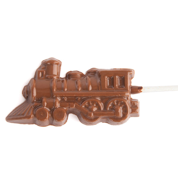 Chocolate Train Lollipops