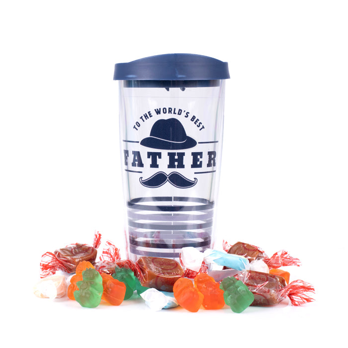 World's Best Father Candy Filled Tumbler