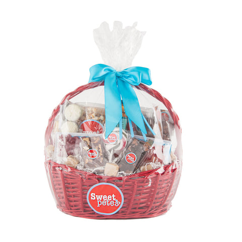 Vegan Chocolate & Candy Gift Basket Supreme
