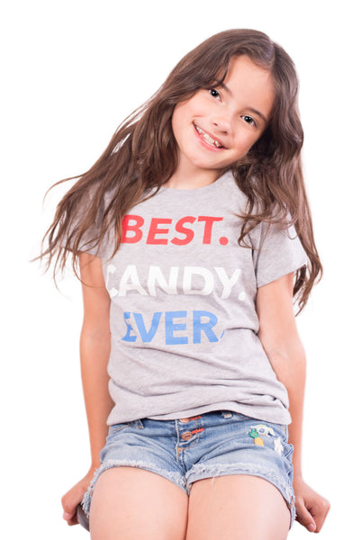 Best Candy Ever Tee Grey