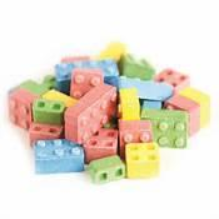 Building Block Candies Party Pack Bulk Candy
