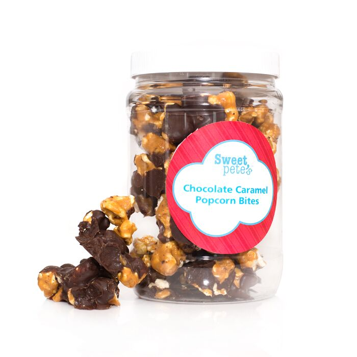 Dark Chocolate Caramel Popcorn Medium
