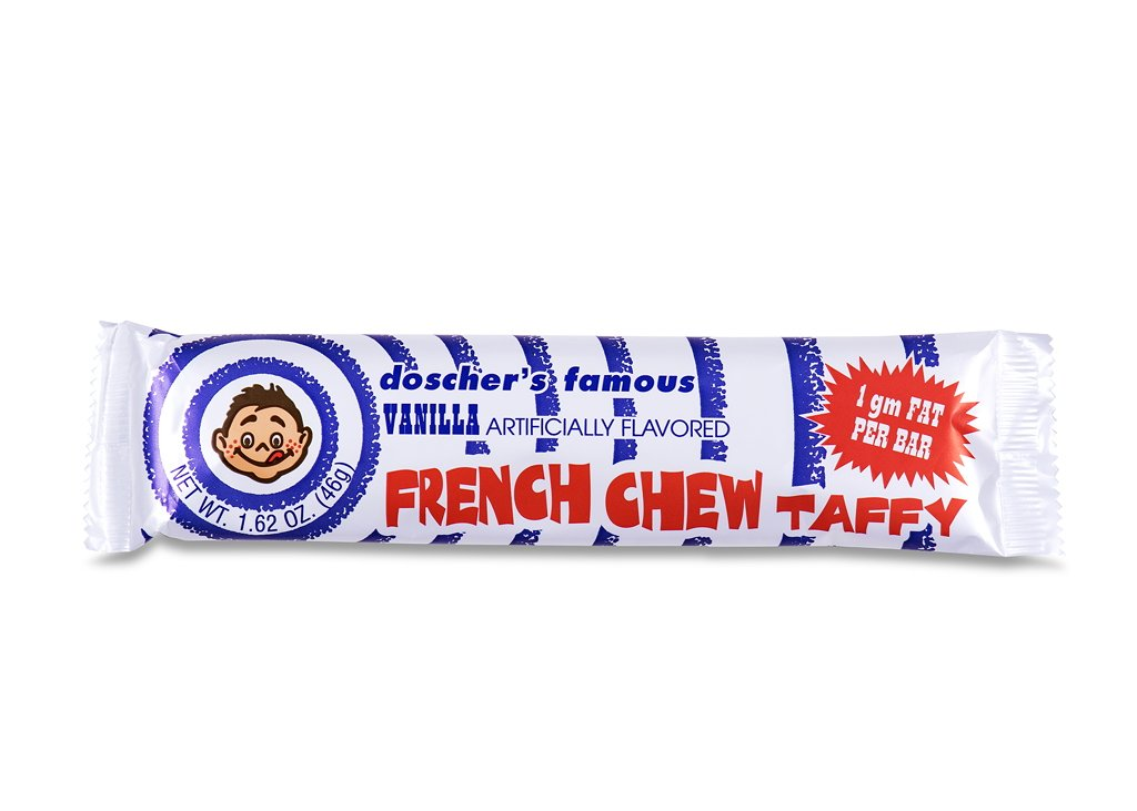 Doscher French Vanilla Taffy