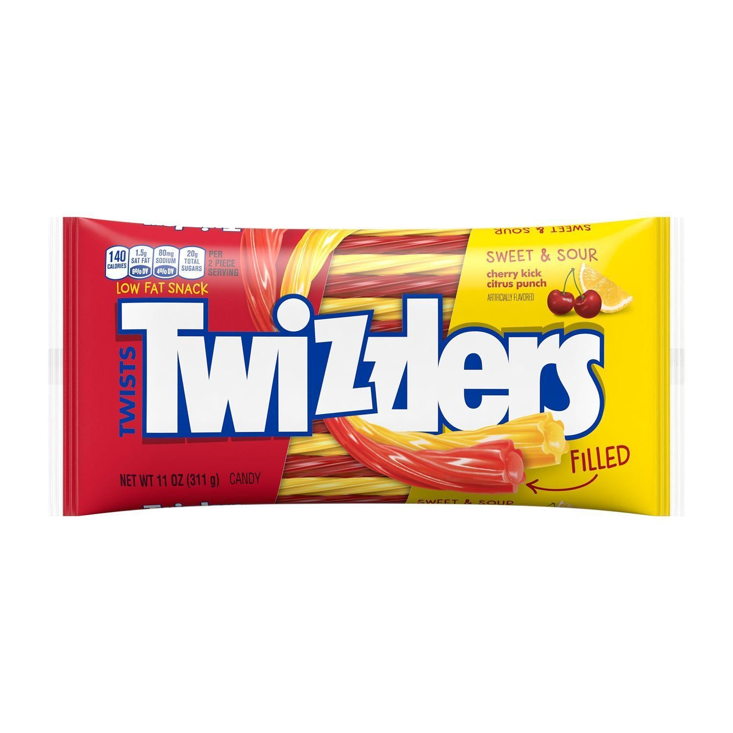 Twizzler Sweet & Sour Filled Twist 11 Ounce
