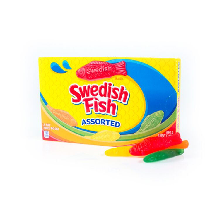 Box Assorted Swedish Fish