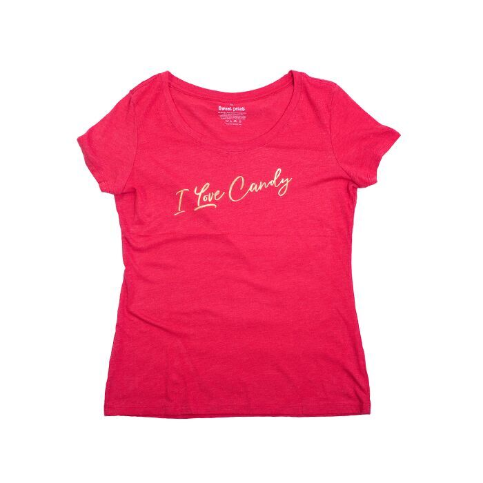 Tee I Love Candy Fitted Ladies