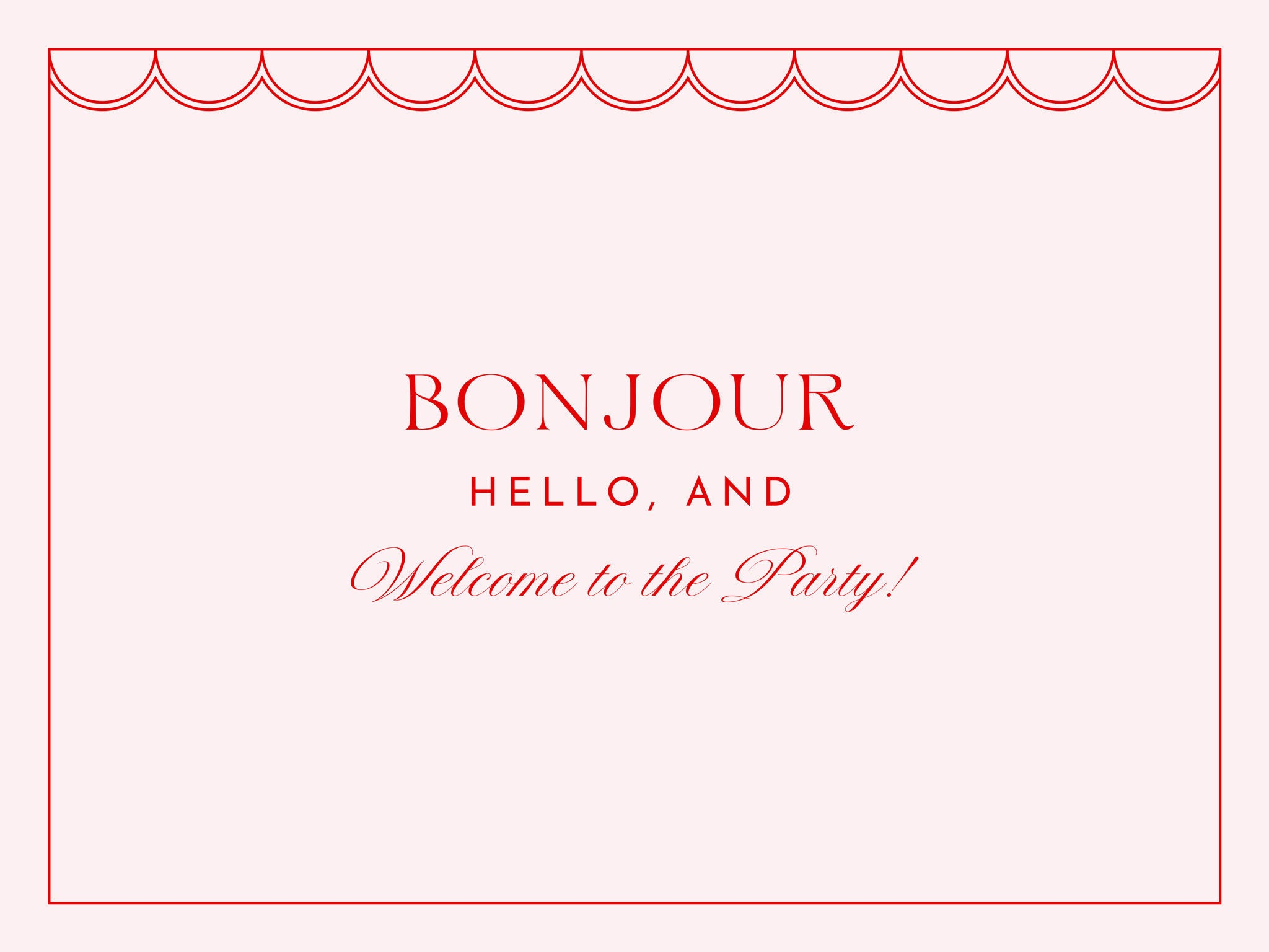Bonjour Fete Installation and Party Decor Services