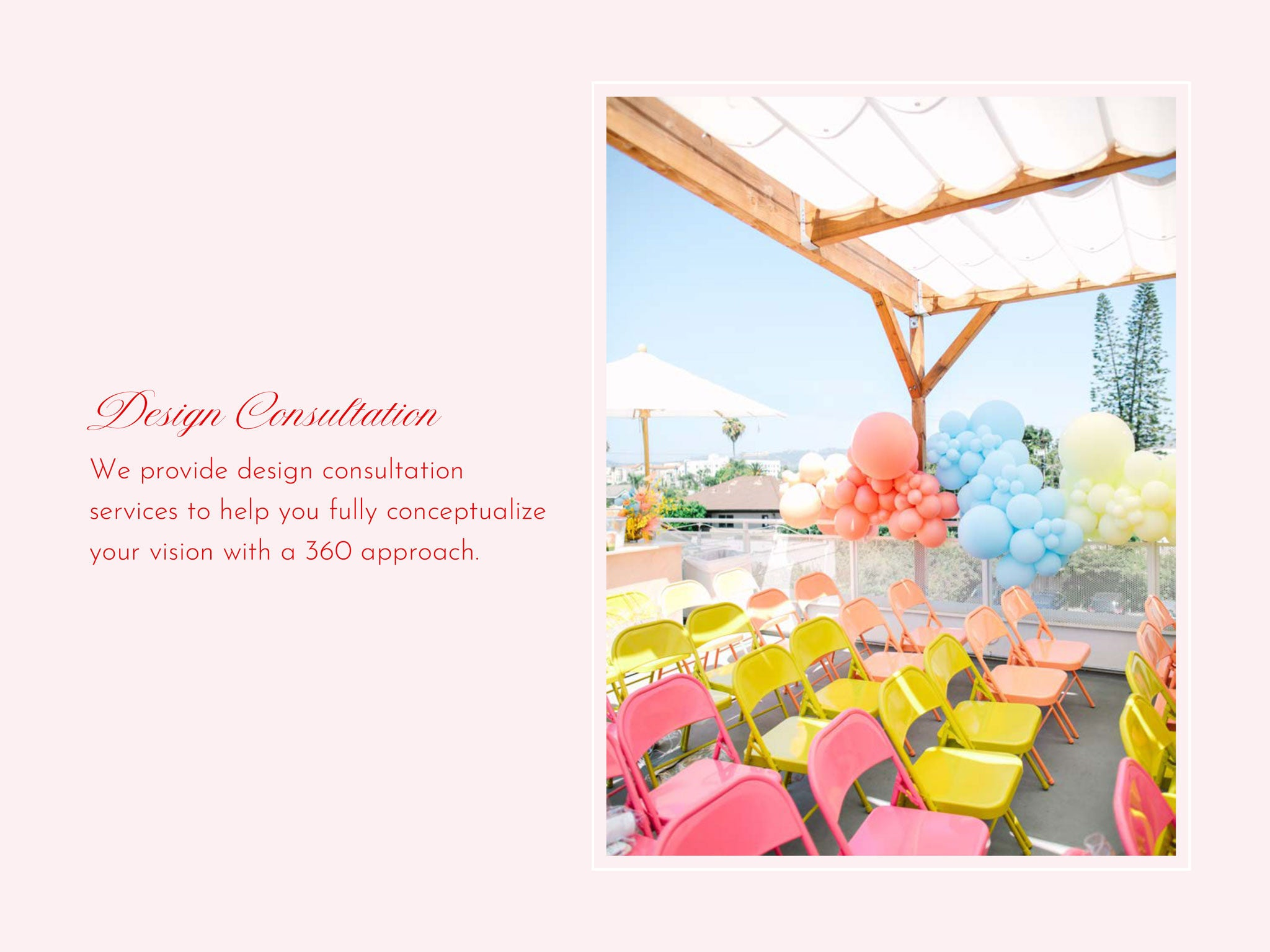 Corporate branding design services in Los Angeles by Bonjour Fete