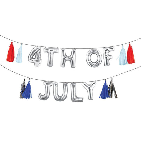 4TH JULY BALLOON GARLAND KIT