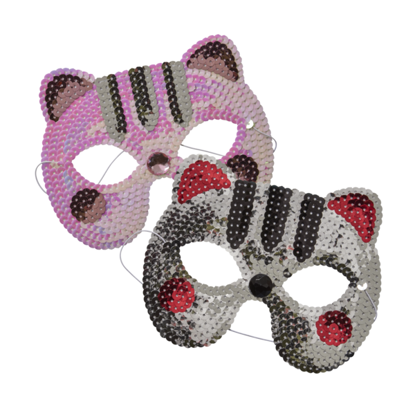 KIDS SEQUIN CAT MASK