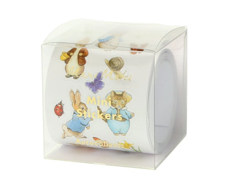 PETER RABBIT AND FRIENDS STICKER ROLL