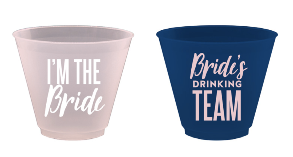 BRIDE'S DRINKING TEAM FROST FLEX CUP