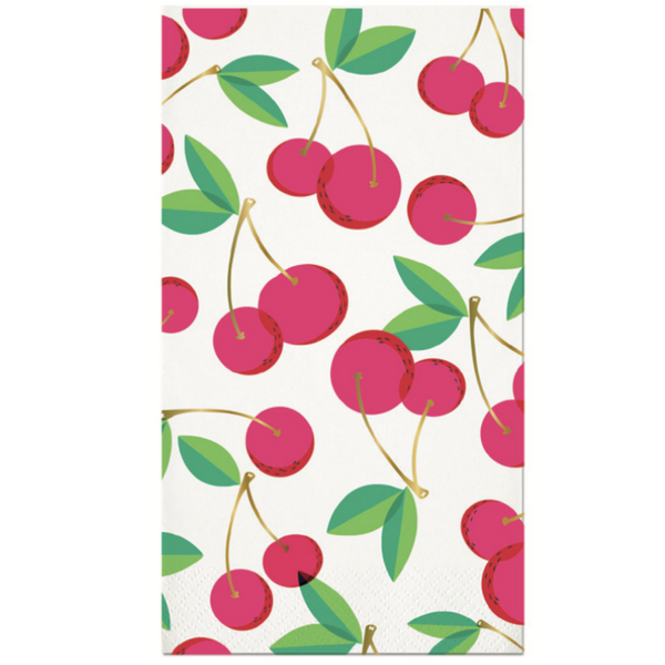 CHERRIES GUEST TOWEL