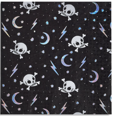 DOOMSDAY SKULL LARGE NAPKINS