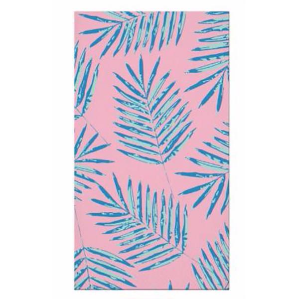 PALM LEAVES GUEST TOWELS