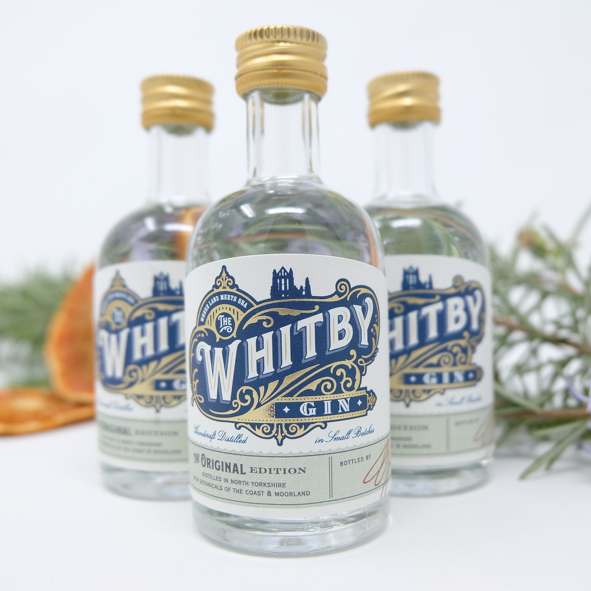 Whitby Gin - Case of 12 Miniatures