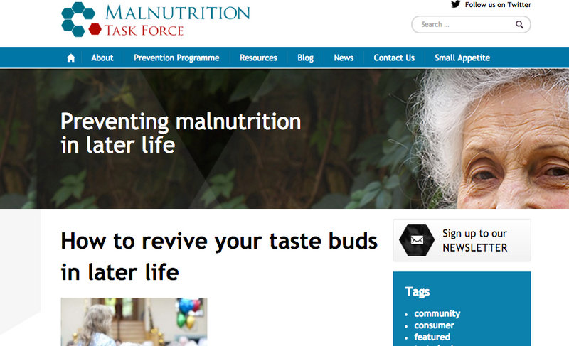 AMANO™ is helping in the battle against malnutrition amongst the old