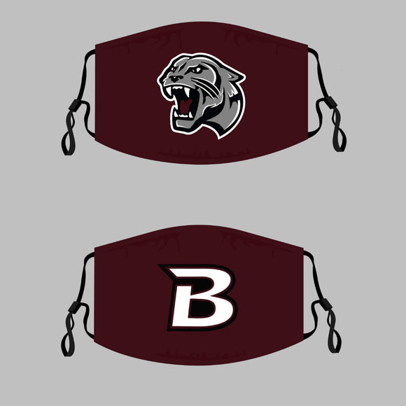 Benton Panthers Adjustable Face Cover - 3-Pack - Multiple Options