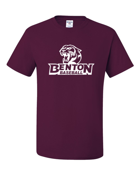 Benton Team Athletic Maroon T-Shirts - Pick Your Sport