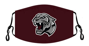 Benton Panthers Adjustable Face Covers