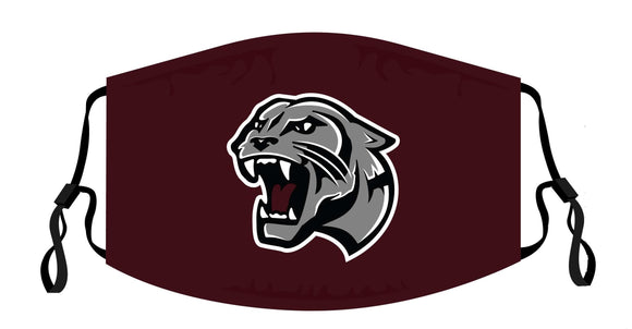 Benton Panthers Adjustable Face Cover - 3-Pack