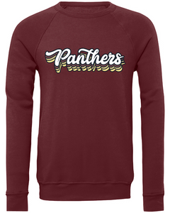 Benton Panthers Retro Sponge Fleece Sweatshirt