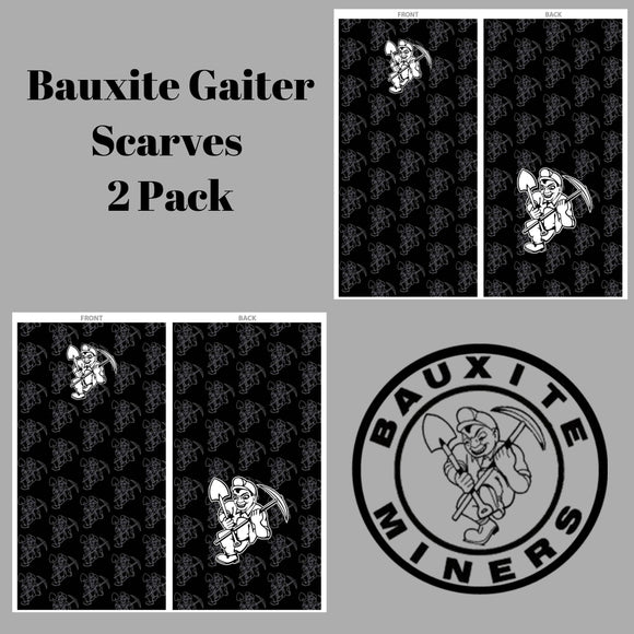 Bauxite Miners Gaiter Scarf - 2 Pack