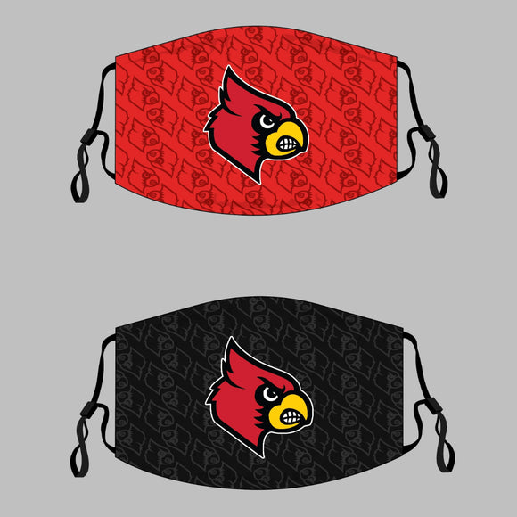 Harmony Grove Cardinals Adjustable Face Cover - 3-Pack - Multiple Options