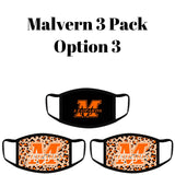 Malvern Leopards Fashion Face Cover - 3-Pack