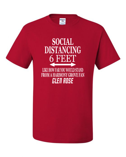 Glen Rose Social Distancing T-Shirt