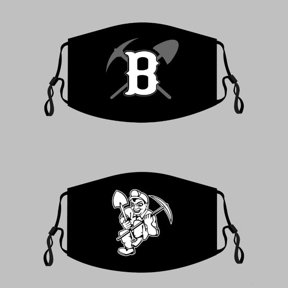 Bauxite Miners Adjustable Face Covers - Two Options