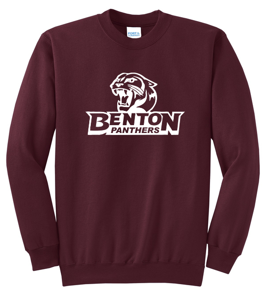 Benton Panthers Crewneck Sweatshirt - Youth & Adult