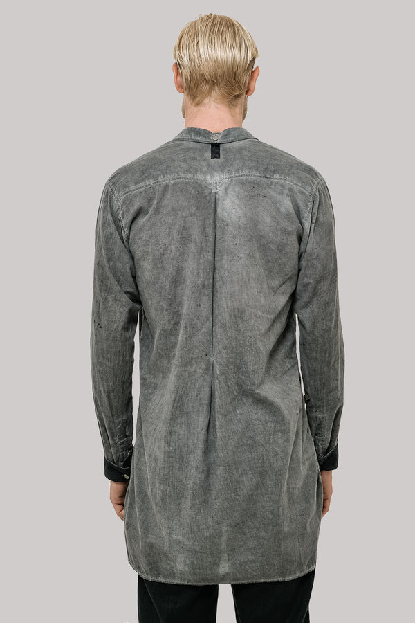 Washed out v-neck Lybra men shirt