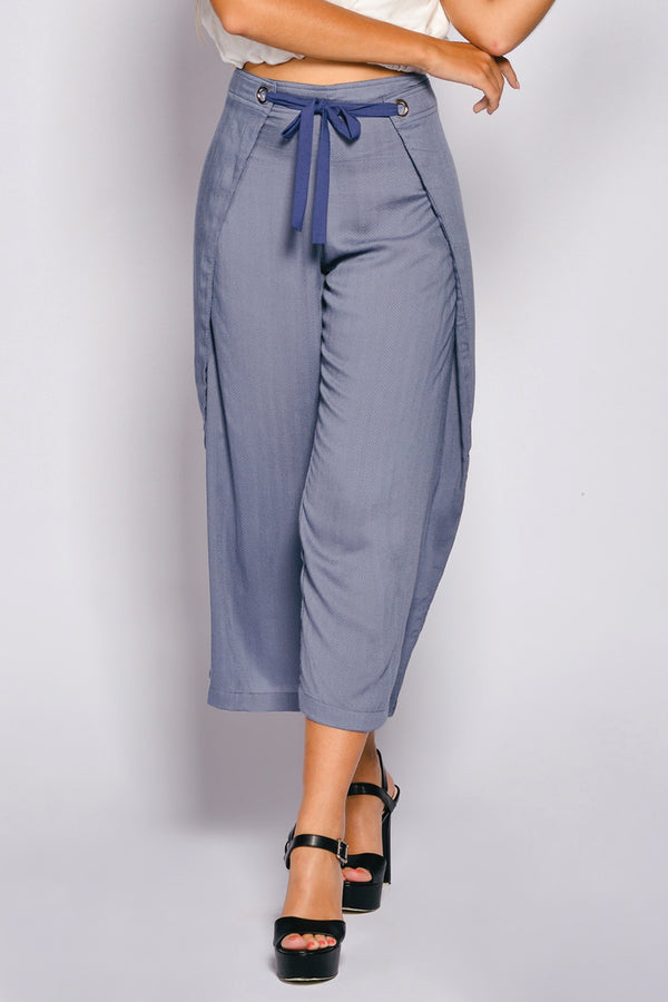 Women Loose Cut Bengal Long Pant