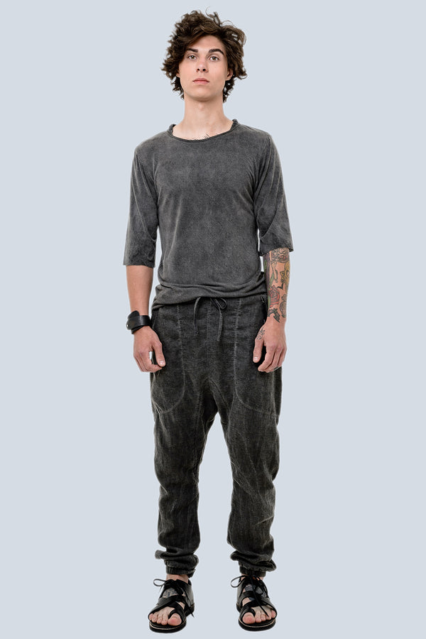 Washed Out Linen Alpha Pant