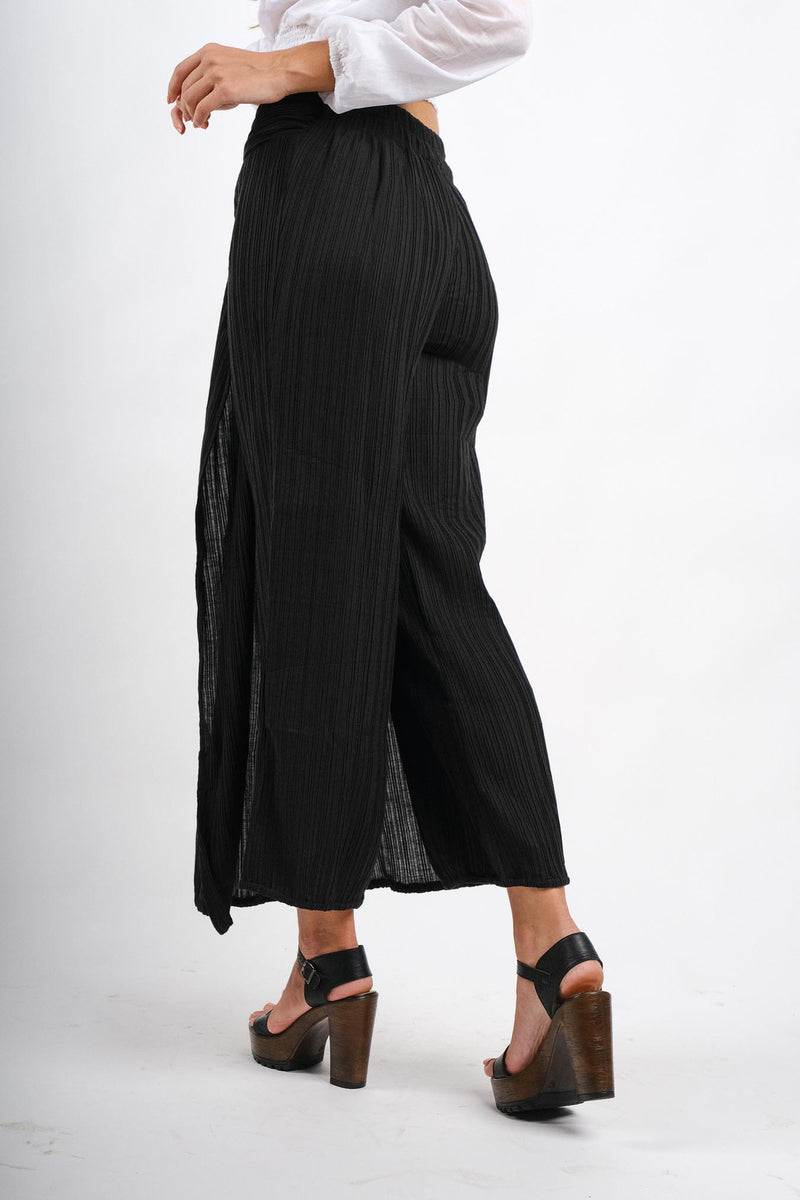 Sunflower Cotton Pleats Pant