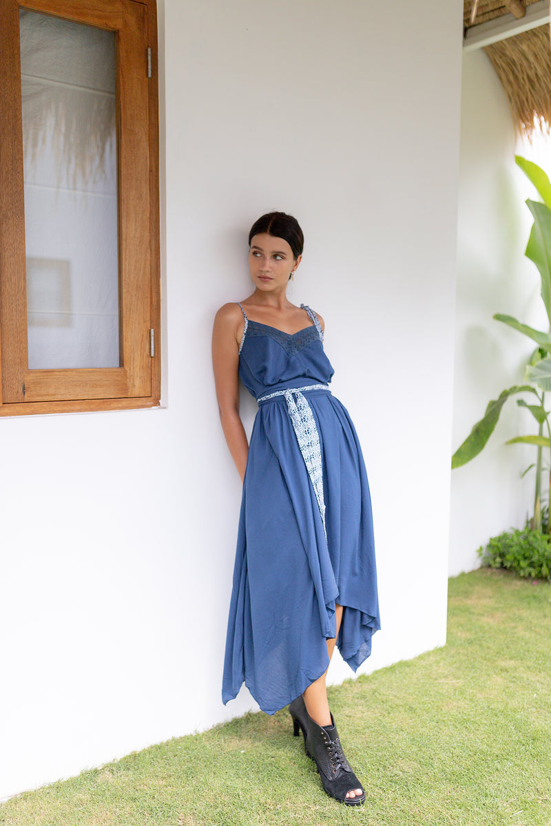 Asymmetric Summer Calcuta Dress