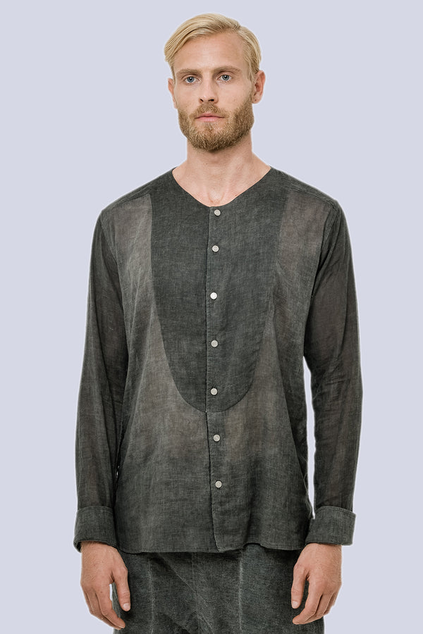 Washed Out Men Light Cotton Indus Shirt