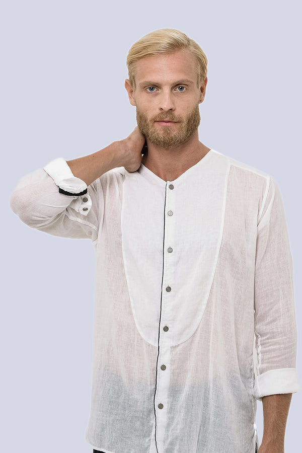 Men Light Cotton Indus Shirt