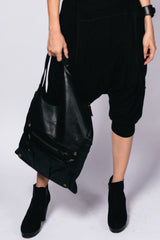 Unisex Leather Hand Sabine Bag