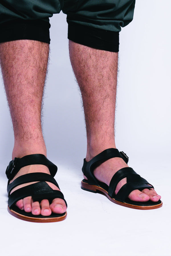 Men Leather Archimed Sandal