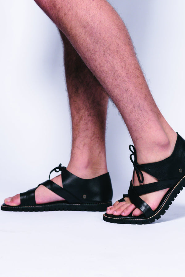 Leather Men Curie Sandal