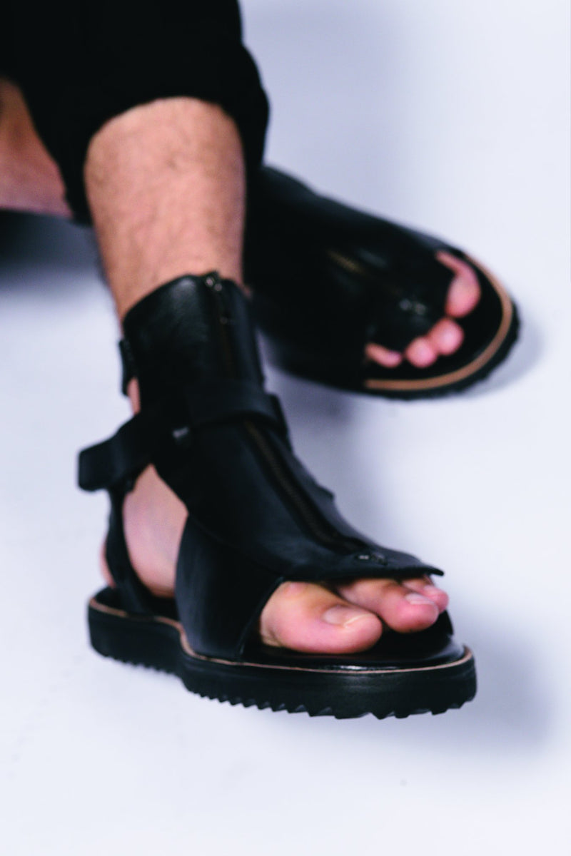 Homere Leather Sandal