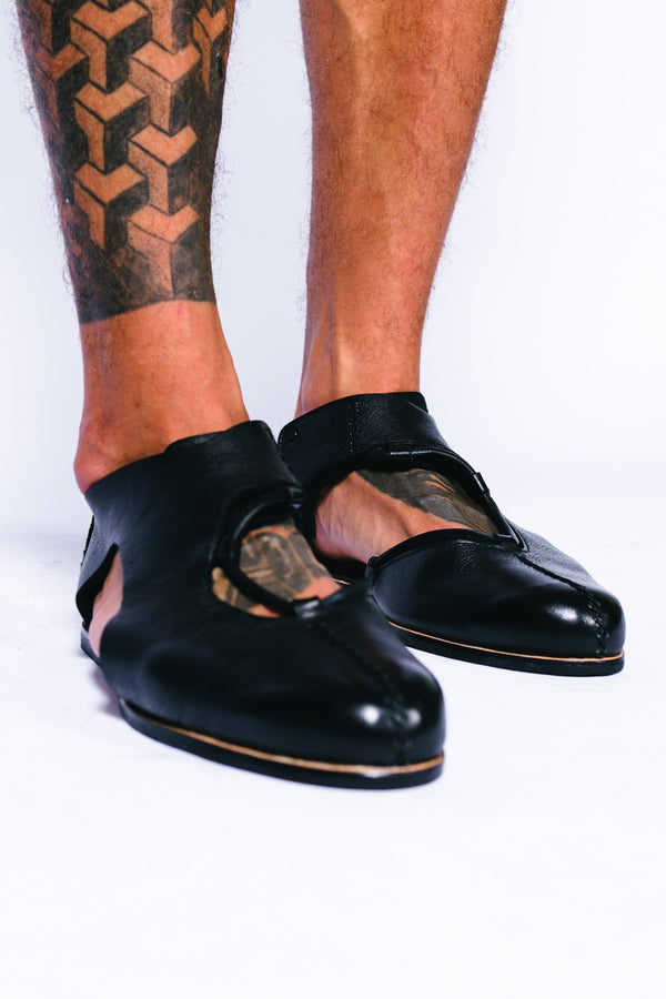 Men Leather Klimt Sandal