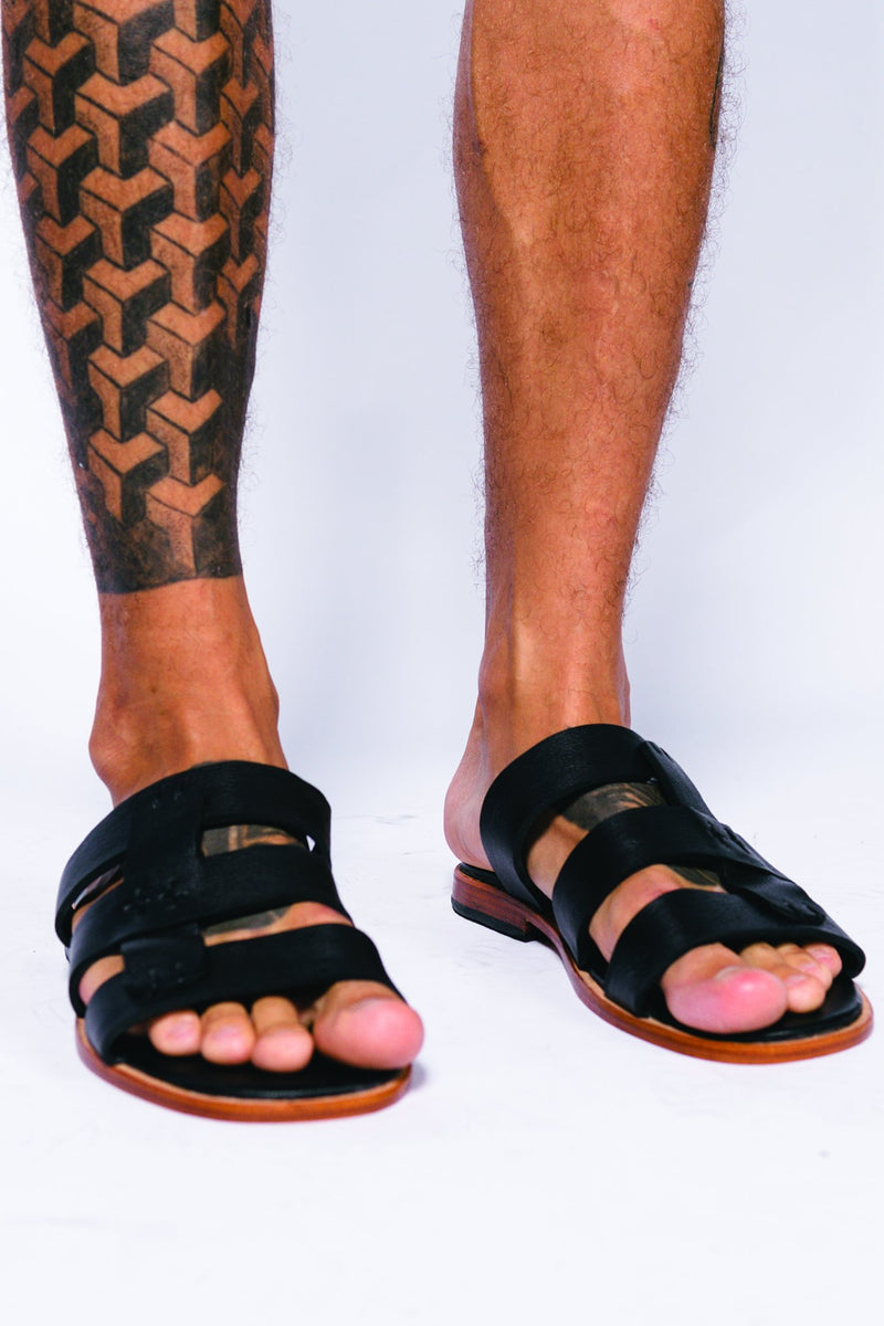 Leather Men Phytagor Sandal
