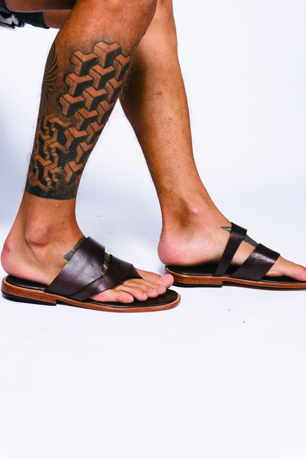 Men Leather Thales Sandal