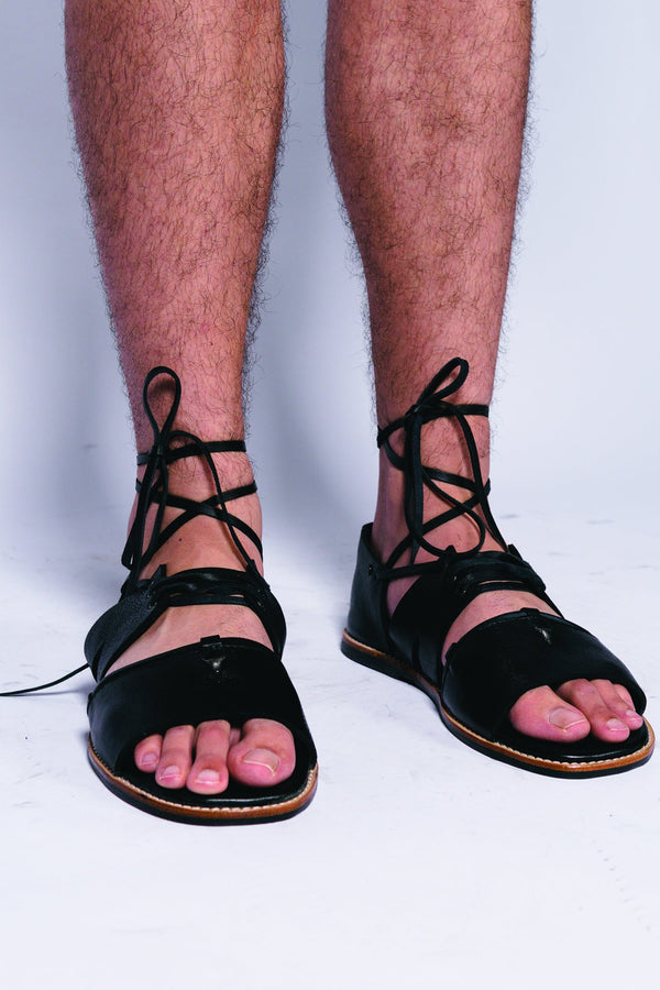 Men Leather Virgile Sandal