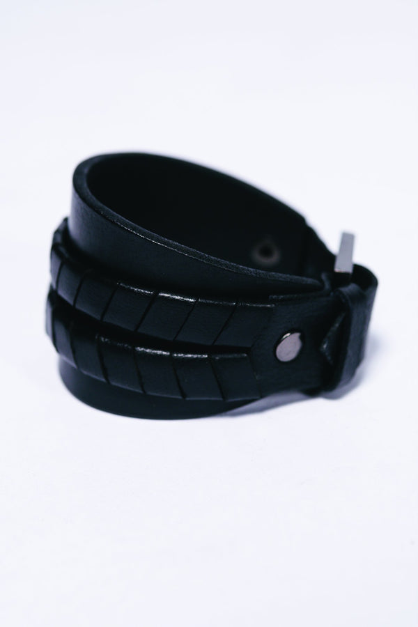 Men Leather Libere Bracelet